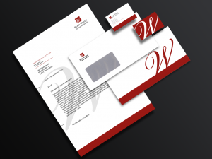 Ansicht Coporate Design Rechtsanwaltskanzlei